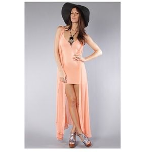 Nasty Gal UNIF Forget It Maxi Overlay
